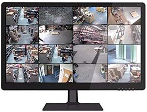 monitor for cctv camer setup